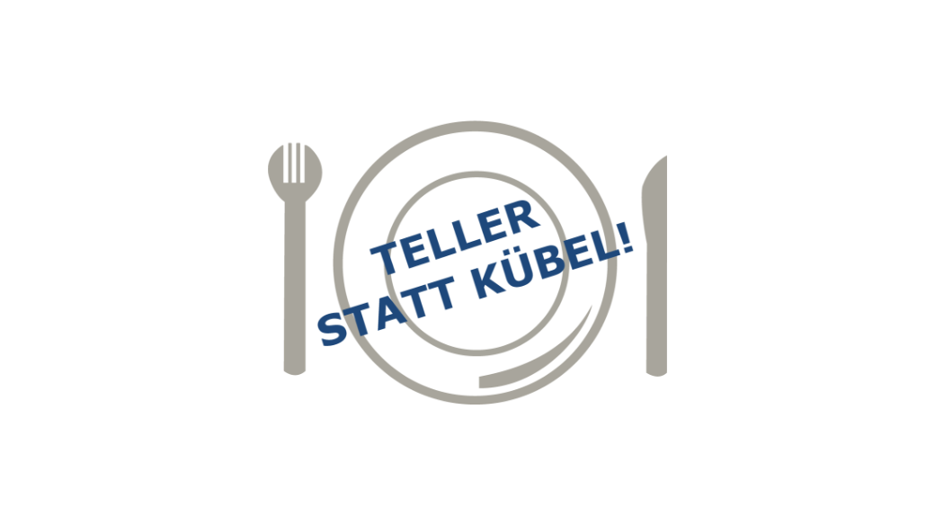 Teller statt Kübel (it)
